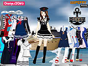 Thumbnail for Tandy Sailor Girl Dressup Game