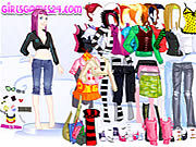 Thumbnail for Casual Girl Dressup