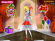 Thumbnail for Billy Clown Girl Dressup
