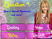 Thumbnail for Hannah Montana Trivia