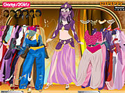 Thumbnail for Ayesha Oriental Girl Dressup