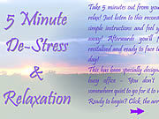 5 Minute De-Stress & Relaxation thumbnail