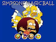 Thumbnail of Simpsons Magic Ball