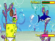 Thumbnail of Sponge Bob Shell Throwing