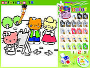 Thumbnail for Hello Kitty Painting