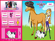 Thumbnail of Horseland Dress up