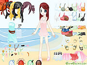 Thumbnail of Dress up Doll 5
