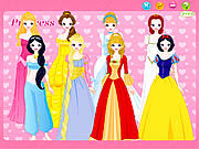 Thumbnail for Disney Princess Dress up