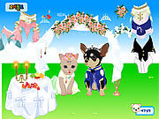 Thumbnail for Pet Wedding Dress up