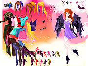 Thumbnail for Leane Angel Dressup