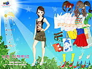 Thumbnail for Sun and Leaves Dressup