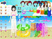 Thumbnail for Sea Swimming Dressup