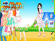 Thumbnail for Blue House Spring Dressup