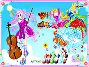 Thumbnail for Violin Dressup