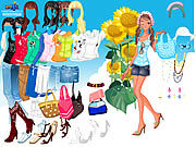 Thumbnail for Sunflower Dressup