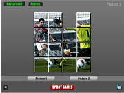 Thumbnail for Soccer Sliding Puzzle