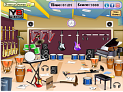 Thumbnail for Messy Music Room