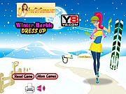 Thumbnail for Winter Barbie Dress Up