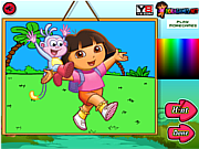 Thumbnail for Dora The Explorer Coloring