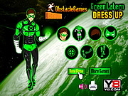Thumbnail for Green Lantern Dress Up