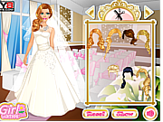 Thumbnail for Barbie Wedding Dressup