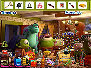 Thumbnail for Monster University Hidden Objects