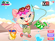 Thumbnail for Naughty Kitten Like To Go Fishing