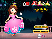 Thumbnail for Sofia The First Dress Up