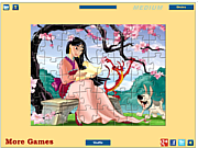 Thumbnail for Princess Mulan Jigsaw