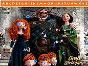 Thumbnail for Brave Merida Hidden Alphabet