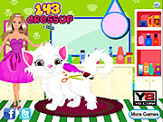 Thumbnail for Barbie Cat Hair Salon Care