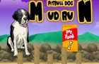 Pitbull dog mudrun thumbnail