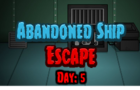 Thumbnail of Abandoned Ship Escape 5