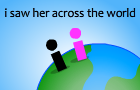 Thumbnail for i saw her across th world