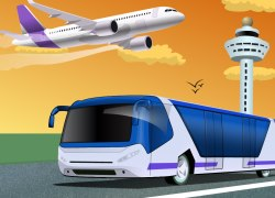 Thumbnail for Airport Bus Parking
