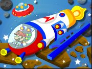 Thumbnail for Mario Space Racing