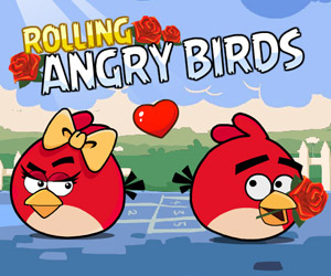 Thumbnail for Rolling Angry Birds