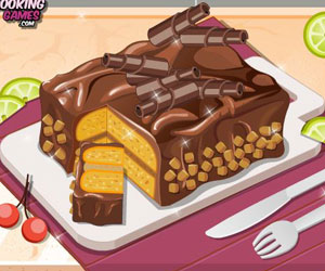 Thumbnail for Peanut Butter Chocolate Cake