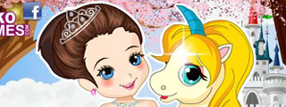 Thumbnail for Princess With Unicorn