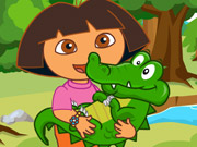 Thumbnail for Dora Care Baby Crocodile