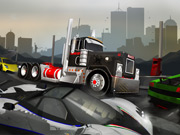 Thumbnail for 18 Wheeler Traffic Jam