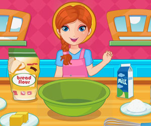Thumbnail for Jessy cooking cookies
