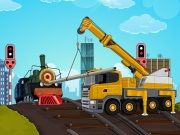 Thumbnail of Railroad Crane Parking