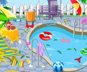 Thumbnail of Clean my pool area