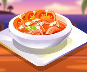Thumbnail for Tomato seafood soup