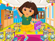 Thumbnail for Dora Schoolday Dressup