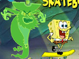 Thumbnail of Spongebob Beach Skateboading
