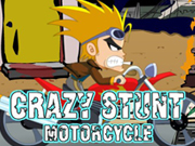Thumbnail of  Crazy stunt motorcycle
