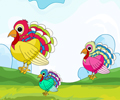 Colorful Turkey Matching thumbnail