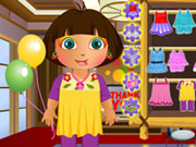 Thumbnail of Dora Thanks Giving Party Dressup